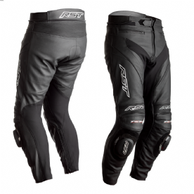 RST Tractech Evo 4 CE Black Leather Jeans